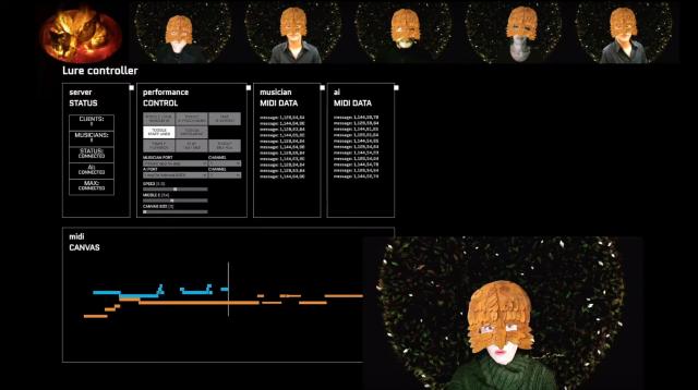 LURE Open Studio Screenshot